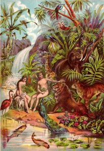 adam and eve in paradise