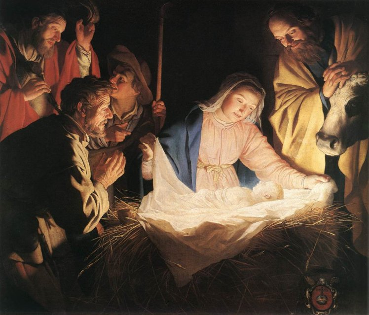 Adoration of the Shepherds Gerard van Honthorst (1622)