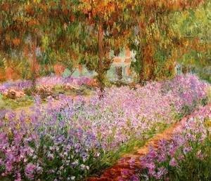 Irises-In-Monets-Garden