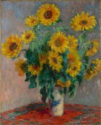 monet-sunflowers