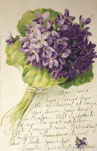 violet vintage