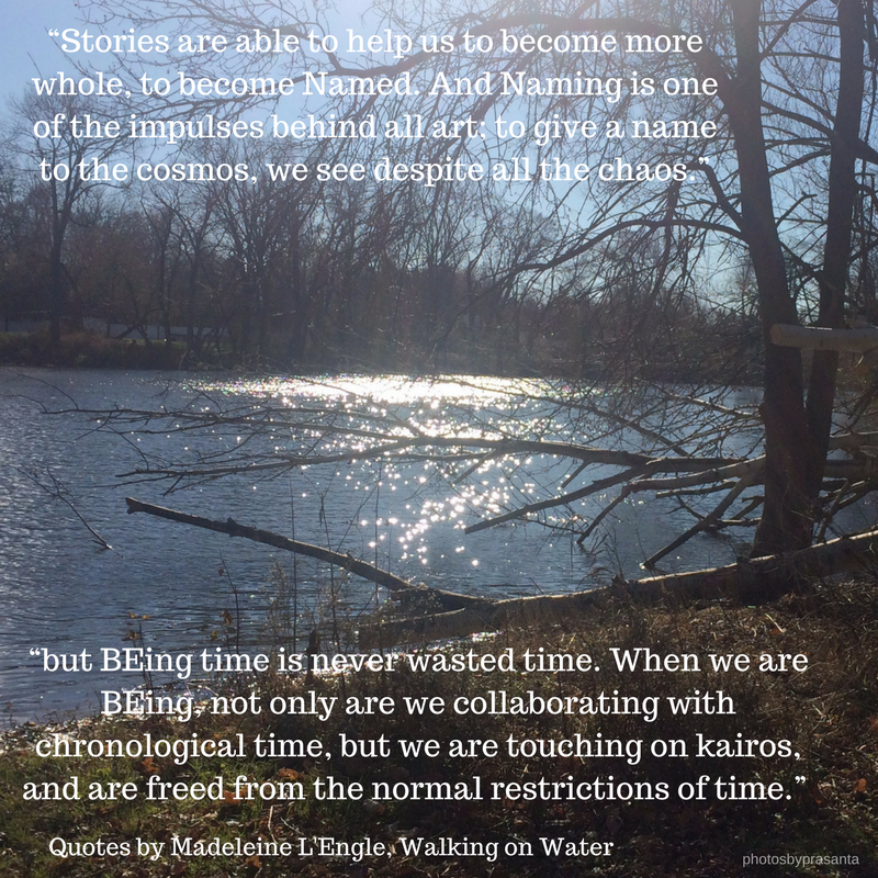 walking on water quote- final