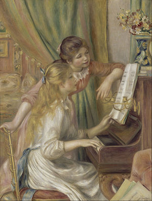 Girls at the piano -300px-Auguste_Renoir_-_Young_Girls_at_the_Piano_-_Google_Art_Project