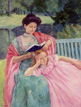 Auguste-reading-to-her-daughter-mary-cassatt