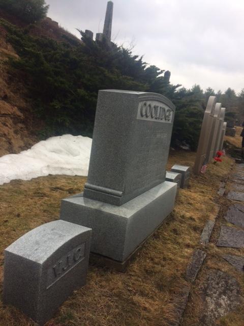 Coolidge-gravesite
