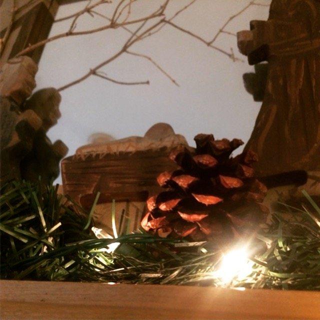 christmas mantle lights